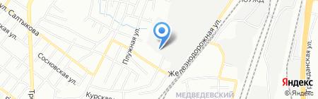 Сиана на карте Челябинска