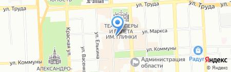 Робин Гуд на карте Челябинска