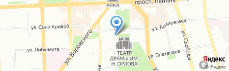 Отдел по работе с правоохранительными органами Администрации г. Челябинска на карте Челябинска