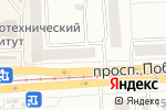 Схема проезда до компании Живика в Челябинске
