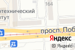 Схема проезда до компании Мир шитья в Челябинске