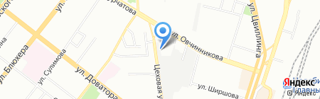 Тепловодов на карте Челябинска