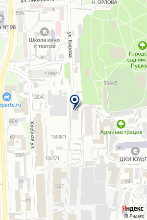ТОРГОВАЯ ФИРМА АТЗ-ТЕХ на карте Челябинска