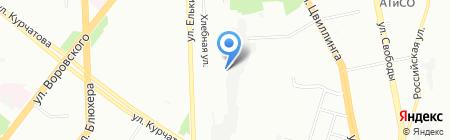 ДЕЛЬТА-ТРАНС на карте Челябинска