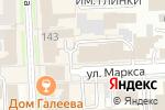 Схема проезда до компании УРАЛЬСКАЯ ПРОМЫШЛЕННАЯ КОМПАНИЯ в Челябинске