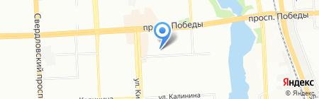 Планета страйкбола на карте Челябинска