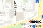 Схема проезда до компании Деньги74 в Челябинске
