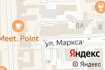 Схема проезда до компании Стройпроект в Челябинске