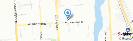 Антика на карте Челябинска