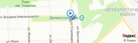 Дикси на карте Челябинска