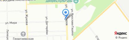 Мира на карте Челябинска