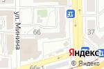 Схема проезда до компании Комфорт в Челябинске