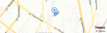 Аризона на карте Челябинска