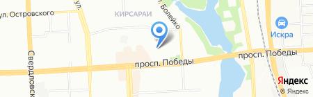 Формула Графита на карте Челябинска