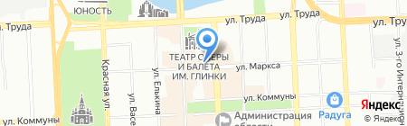 DataOK на карте Челябинска