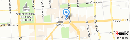 Pandora на карте Челябинска