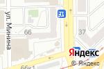 Схема проезда до компании Альпари в Челябинске
