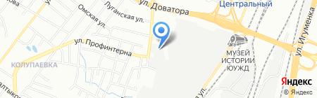 Универсал на карте Челябинска