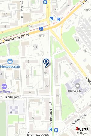 БУХУЧЕТ И НАЛОГИ ОТ А ДО Я на карте Челябинска