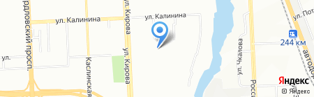 Особый на карте Челябинска