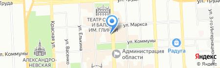 ЧЕЛЯБРЕГИОНЭКСПЕРТИЗА на карте Челябинска