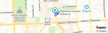 Линзы Даром на карте Челябинска