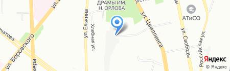Грандис на карте Челябинска