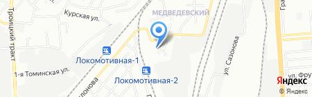 Мехпрачечная ЮУЖД на карте Челябинска