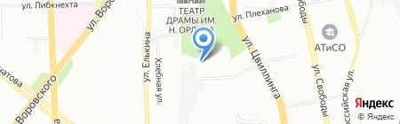 Радио Дорожное на карте Челябинска