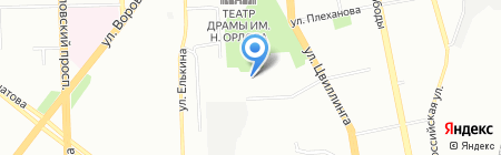 БИОМиКА на карте Челябинска
