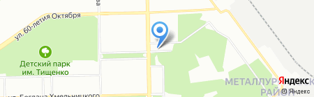 Электромонтажремонт на карте Челябинска