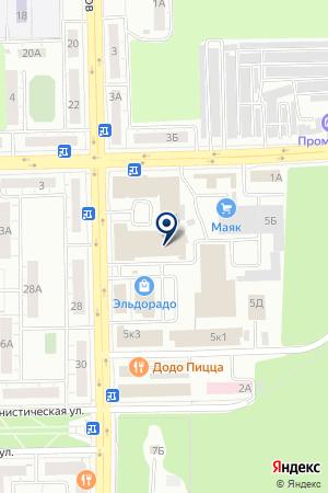 МАГАЗИН ЦЕНТРОБУВЬ на карте Челябинска