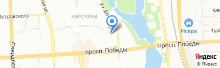 Профкомплект на карте Челябинска