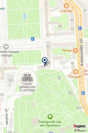 КОМПАНИЯ VIDEOGUARD (ВИДЕОГАРД) на карте Челябинска