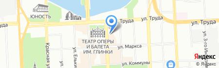 Альфа-дизайн на карте Челябинска