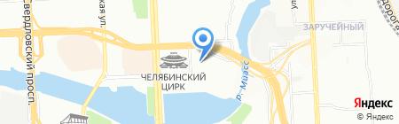 Мет Ком на карте Челябинска