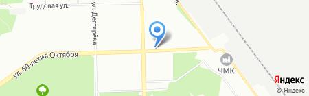 Рембыттехника на карте Челябинска