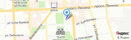 Банкомат Банк ВТБ 24 на карте Челябинска
