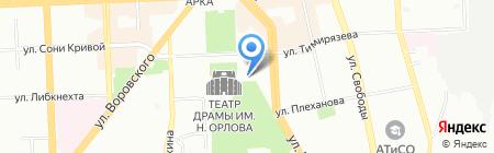 Вершина вкуса на карте Челябинска