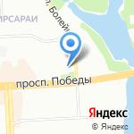 Рост на карте Челябинска