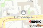 Схема проезда до компании Развитие в Челябинске