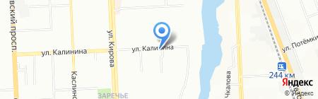 Ермолинские полуфабрикаты на карте Челябинска