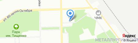 220Вольт на карте Челябинска