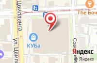 Схема проезда до компании Велрос в Челябинске