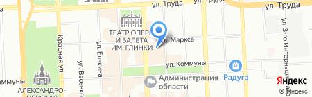 Nomination на карте Челябинска