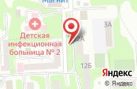 Схема проезда до компании Продторг в Челябинске