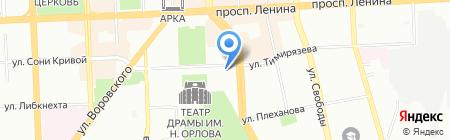 РТС-тендер на карте Челябинска