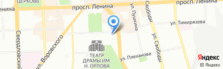 Детский сад №110 на карте Челябинска