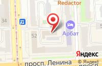 Схема проезда до компании Площадь Эволюции в Челябинске