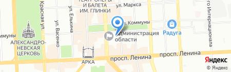 Межведомственная комиссия по делам несовершеннолетних и защите их прав на карте Челябинска
